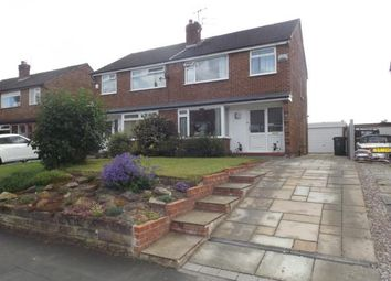 Thumbnail 3 bed semi-detached house for sale in Bosden Avenue, Hazel Grove, Stockport, Cheshire