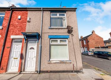 Thumbnail 2 bed end terrace house for sale in Oxford Road, Hartlepool