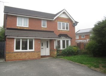 Thumbnail 4 bed detached house to rent in James Atkinson Way, Crewe