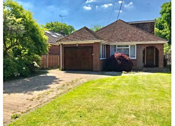Thumbnail 3 bed detached bungalow for sale in Yeovil Road, Sandhurst