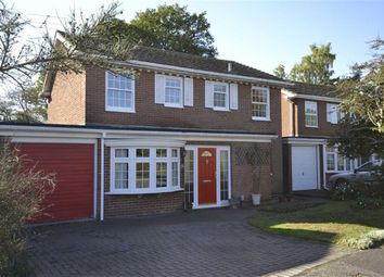 Thumbnail 4 bed detached house for sale in Chiltern Close, Wash Common, Berkshire