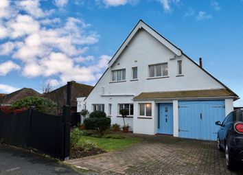 Thumbnail 4 bed detached house for sale in Wicklands Avenue, Saltdean