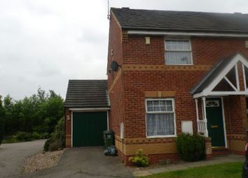 Thumbnail 2 bed semi-detached house to rent in Nether Field Way, Thorpe Astley, Braunstone, Leicester