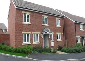 Thumbnail 3 bed detached house to rent in Webbers Way, Tiverton
