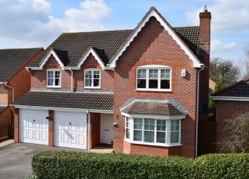 Thumbnail 5 bed detached house for sale in Foxglove Way, Thatcham