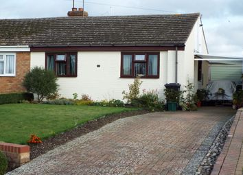 Thumbnail 2 bed semi-detached bungalow for sale in Queen Street, Bozeat, Northamptonshire
