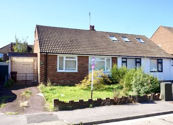 Thumbnail 2 bed semi-detached bungalow for sale in Wooldeys Road, Rainham Gillingham