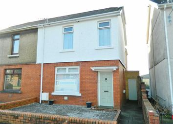 Thumbnail 2 bed semi-detached house for sale in Armine Road, Fforestfach, Swansea