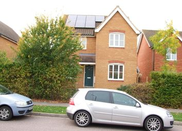 Thumbnail 4 bed link-detached house for sale in Brook Farm Road, Saxmundham