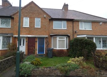 Thumbnail 3 bed terraced house to rent in Fox Grove, Acocks Green, Birmingham