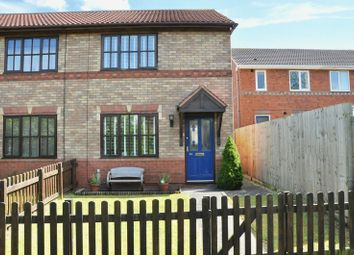 Thumbnail 2 bed semi-detached house for sale in St. Patricks Close, Evesham