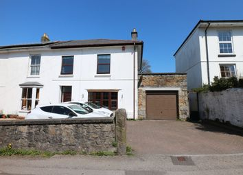 Thumbnail 4 bed semi-detached house for sale in Trevu Road, Camborne