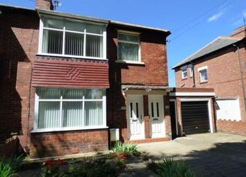 Thumbnail 3 bed flat for sale in Verne Road, North Shields, Tyne And Wear