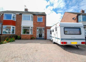 Thumbnail 3 bed semi-detached house for sale in Woodlands Drive, Cleadon, Sunderland