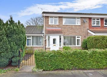 Thumbnail 4 bed end terrace house for sale in Sandy Close, Petersfield, Hampshire
