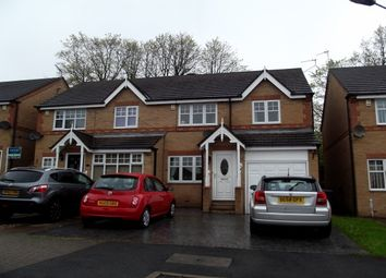 Thumbnail 3 bed property to rent in Bede Court, Chester Le Street