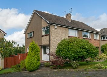 Thumbnail 3 bed semi-detached house for sale in Clerwood Park, Edinburgh