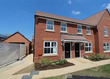 Thumbnail 2 bed end terrace house for sale in Marston Fields, Marston Moretaine, Bedford