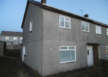 Thumbnail 3 bed semi-detached house for sale in 96 Broom Drive, Grassmoor, Chesterfield, Derbyshire