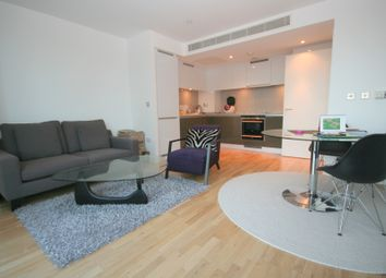 Thumbnail 1 bed flat to rent in Landmark Tower, 22 Marsh Wall, London