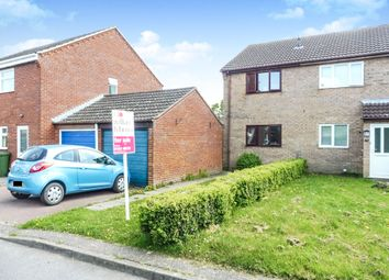 Thumbnail 2 bedroom semi-detached house for sale in Hillfields, Toftwood, Dereham