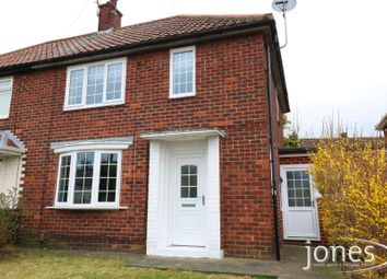 Thumbnail 2 bed semi-detached house for sale in Keats Road, Middlesbrough