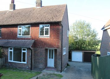 Thumbnail 3 bed semi-detached house to rent in Church Road, Rotherfield, Crowborough