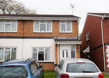 Thumbnail 3 bed semi-detached house for sale in Brynderwen, Pontypridd
