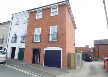 Thumbnail 4 bed town house to rent in Weavers Terrace, Weavers Lane, Sudbury