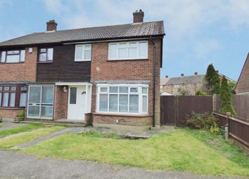 Thumbnail 3 bed semi-detached house for sale in Oliver Road, Swanley