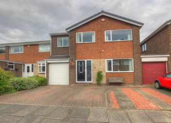Thumbnail 5 bed detached house for sale in Embleton Close, Newton Hall, Durham