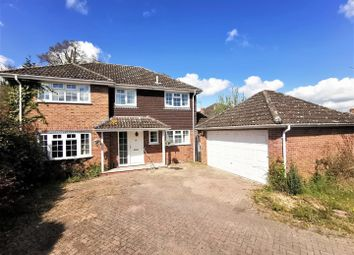 Thumbnail 4 bed detached house for sale in Pound Close, Bramley, Tadley