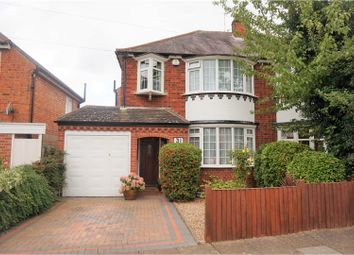 Thumbnail 3 bed semi-detached house for sale in Northfold Road, Leicester