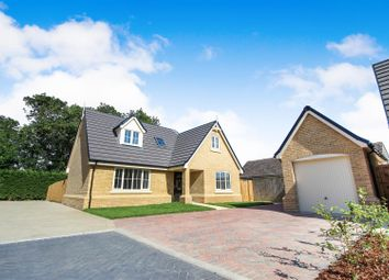 Thumbnail 4 bedroom detached house for sale in Hardwick Court, Holme, Peterborough