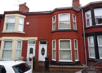 Thumbnail 3 bed terraced house to rent in Downham Road, Tranmere