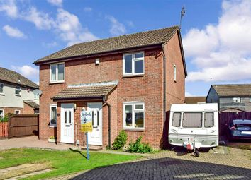 Thumbnail 2 bed semi-detached house for sale in Busbridge Road, Snodland, Kent
