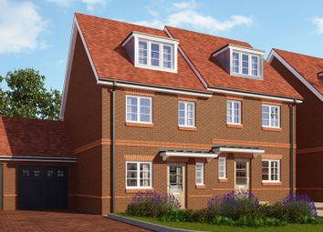 Thumbnail 3 bedroom semi-detached house for sale in Parklands, Woodlands Avenue, Woodley, Berkshire