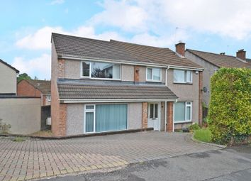 Thumbnail 4 bed detached house for sale in Outstanding Family House, Alanbrooke Avenue, Newport