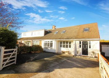 Thumbnail 5 bed semi-detached bungalow for sale in Langley Avenue, Shiremoor, Newcastle Upon Tyne