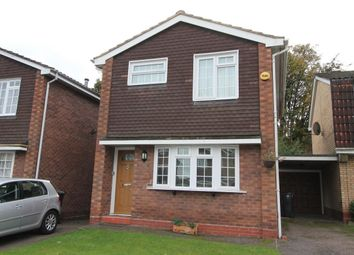 Thumbnail 3 bedroom detached house for sale in Waldale Drive, Leicester