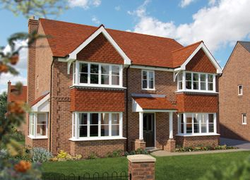 "Thumbnail 5 bed detached house for sale in ""The Ascot"" at North End Road, Steeple Claydon, Buckingham"