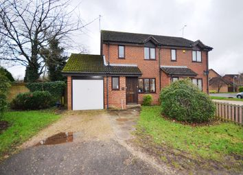 Thumbnail 3 bed semi-detached house to rent in Isis Close, Winnersh, Wokingham