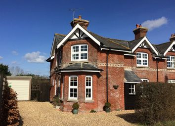 Thumbnail 2 bed semi-detached house for sale in Sandleheath Road, Alderholt, Fordingbridge