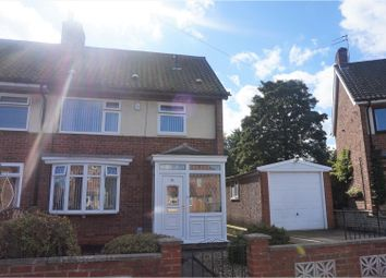 Thumbnail 3 bed end terrace house for sale in Northolme Crescent, Hessle