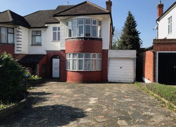 Thumbnail 3 bed semi-detached house to rent in 21 South Lodge Drive, Oakwood, London