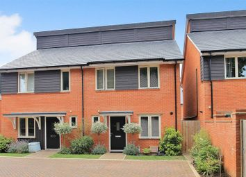 Thumbnail 3 bed semi-detached house for sale in White Hart Close, Ripley, Woking