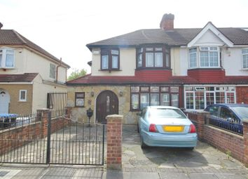 Thumbnail 3 bed end terrace house for sale in Woodgrange Gardens, Enfield