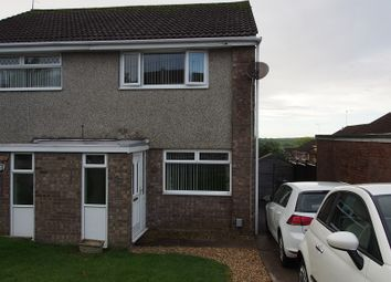 Thumbnail 2 bedroom semi-detached house to rent in Rutland Close, Barry