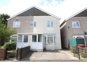 Thumbnail 3 bed semi-detached house to rent in Waterdales, Northfleet, Gravesend, Kent