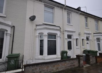 Thumbnail 4 bed terraced house to rent in Alverstone Road, Southsea